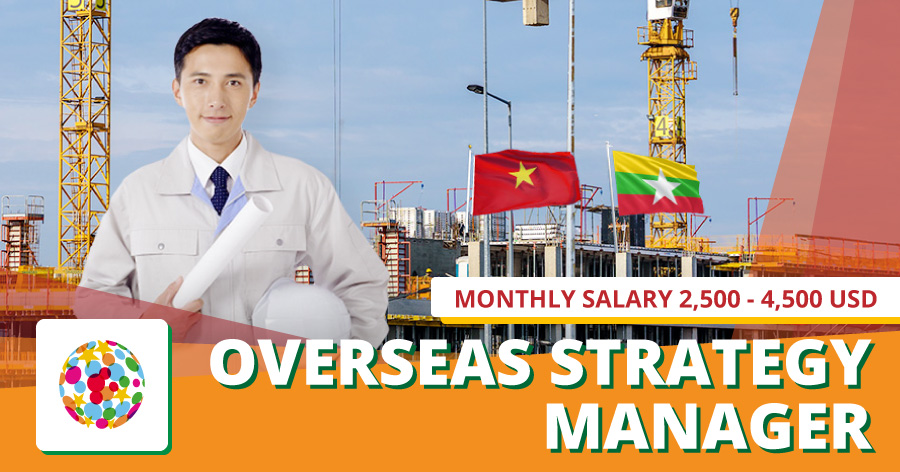 Administrator, manager for overseas growth strategy promotion