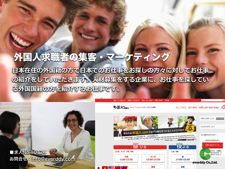 外国人求職者の集客・マーケティング