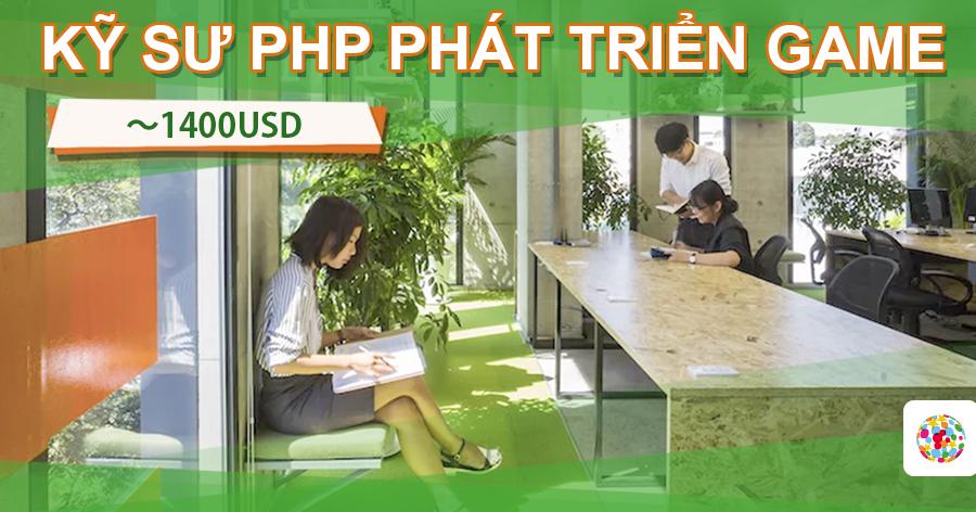 Kỹ sư PHP làm việc tại Hồ Chí Minh