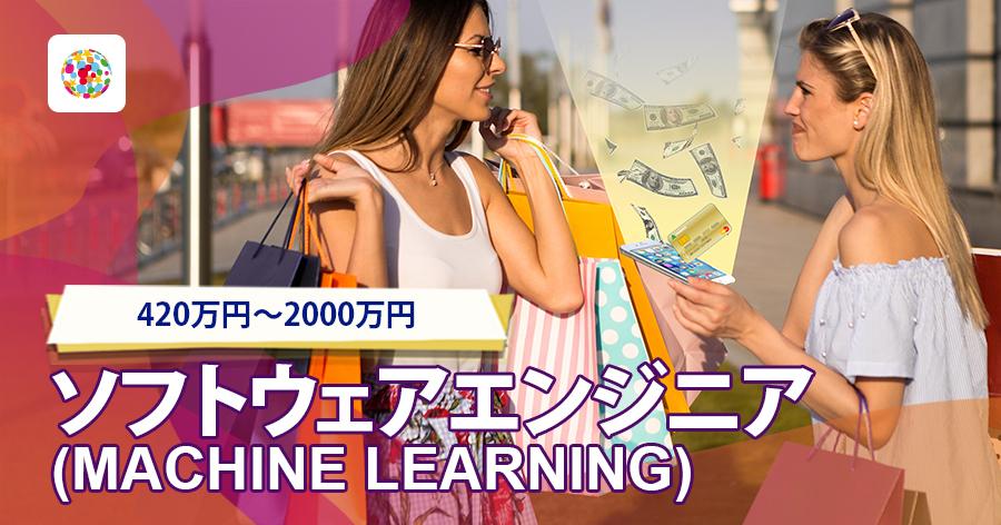 ソフトウェアエンジニア(Machine Learning)