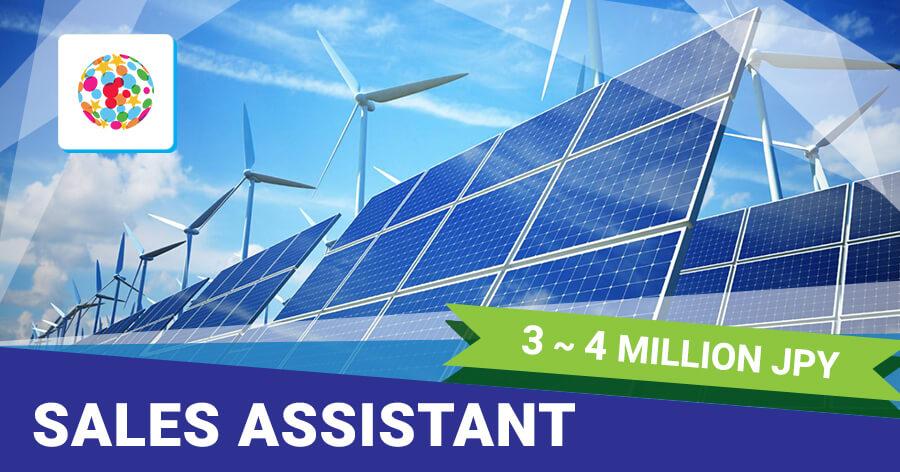 Sales Assistant for Renewable Energy Development Companies