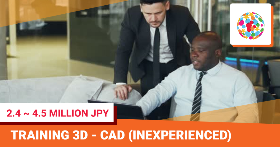 3D-CAD training (inexperienced)