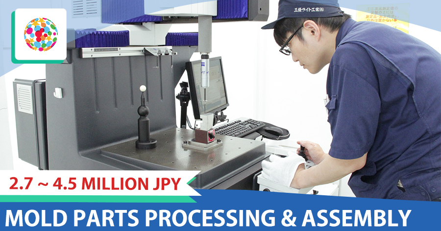 Mold parts processing and assembly【general and manager】