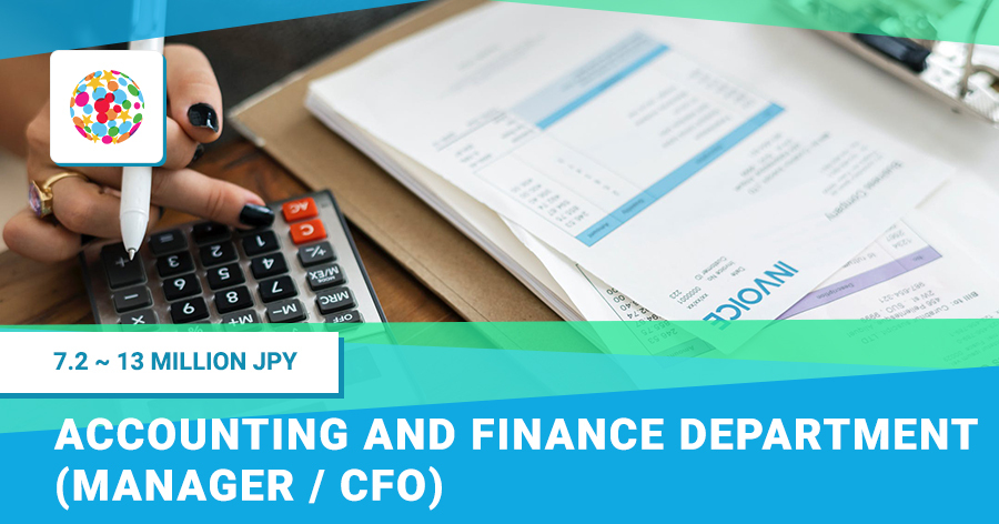 Accounting and Finance Department (Manager / CFO)