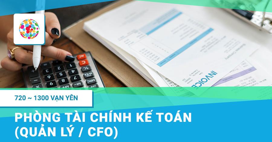 Tài chính Kế toán (Quản lý / CFO)