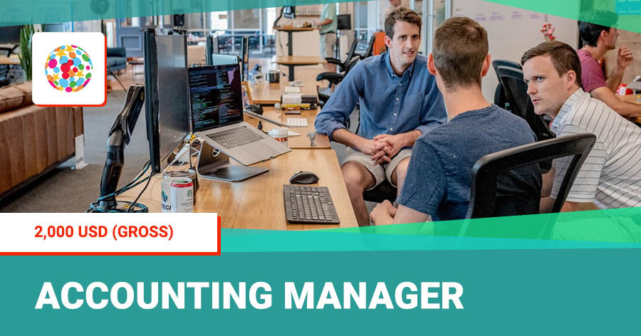 [Working in Vietnam] Manager of Accounting Department