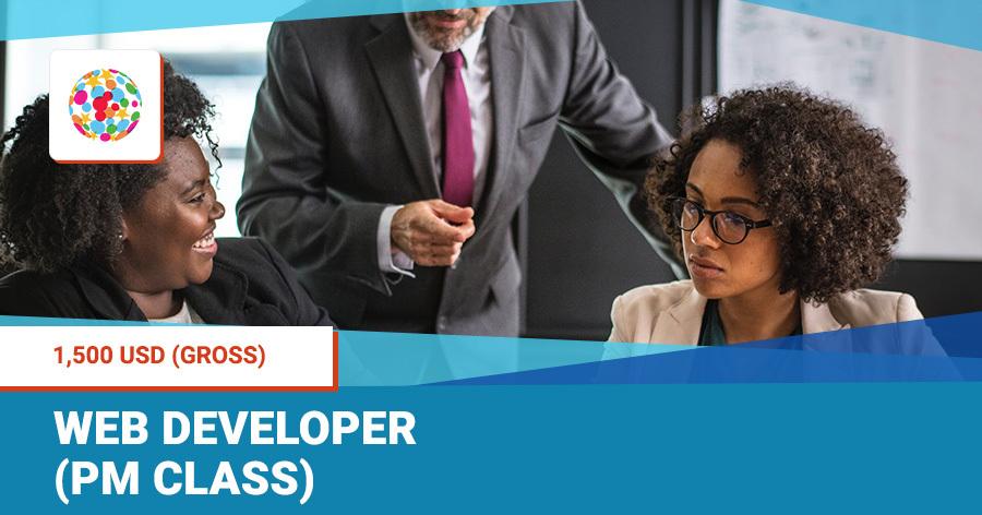 Web developer (PM class)