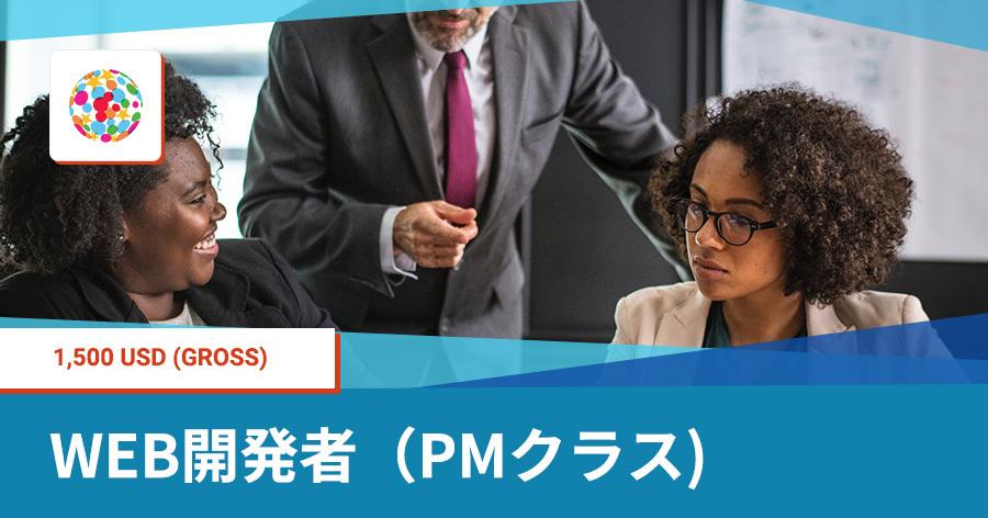 Web開発者(PMクラス)