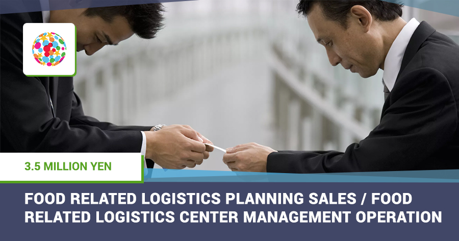 Food related logistics s planning sales/Food related