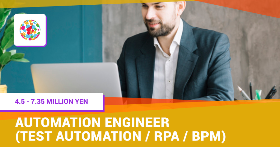 Automation Engineer (Test automation/RPA/BPM)